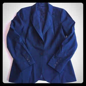 Theory Wool Blazer Black Size 12